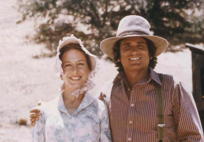 Caroline et Charles Ingalls dans La petite maison dans la prairie