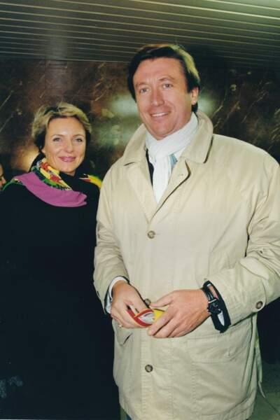 Jacques Legros et sa femme Valérie Legros