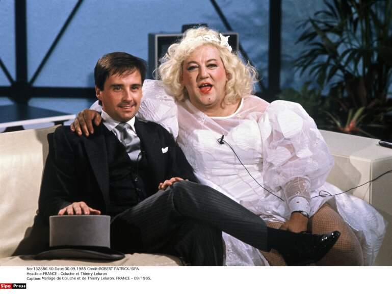 Son mariage avec Thierry Leluron en 1985