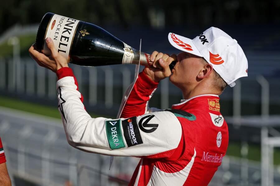 Mick Schumacher vainqueur de 6 de ses 10 derniers grands-prix