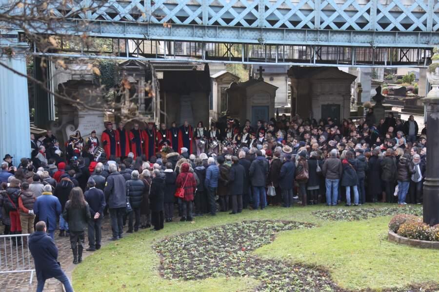 Les obsèques de Jean-Louis Foulquier se sont tenues au cimetière de Montmartre le 14 décembre 2013
