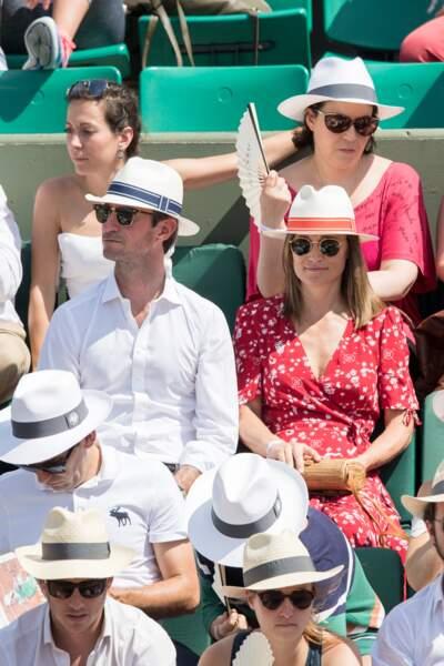 Pippa Middleton et son mari, amateurs de tennis