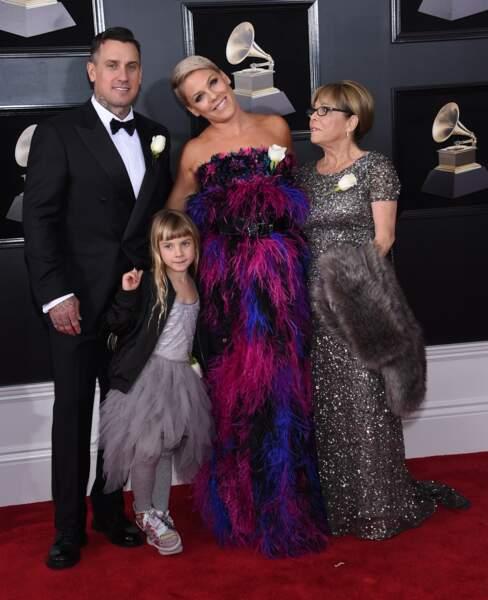 Pink avec sa fille Willow Sage Hart,