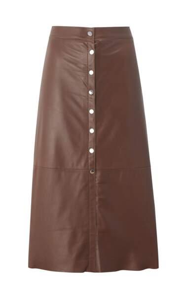 Glamour, jupe longue à boutons, 79,90 € (Mango).
