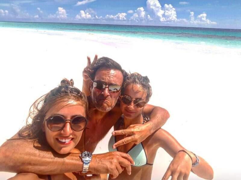 Anthony Delon et les deux femmes de sa vie