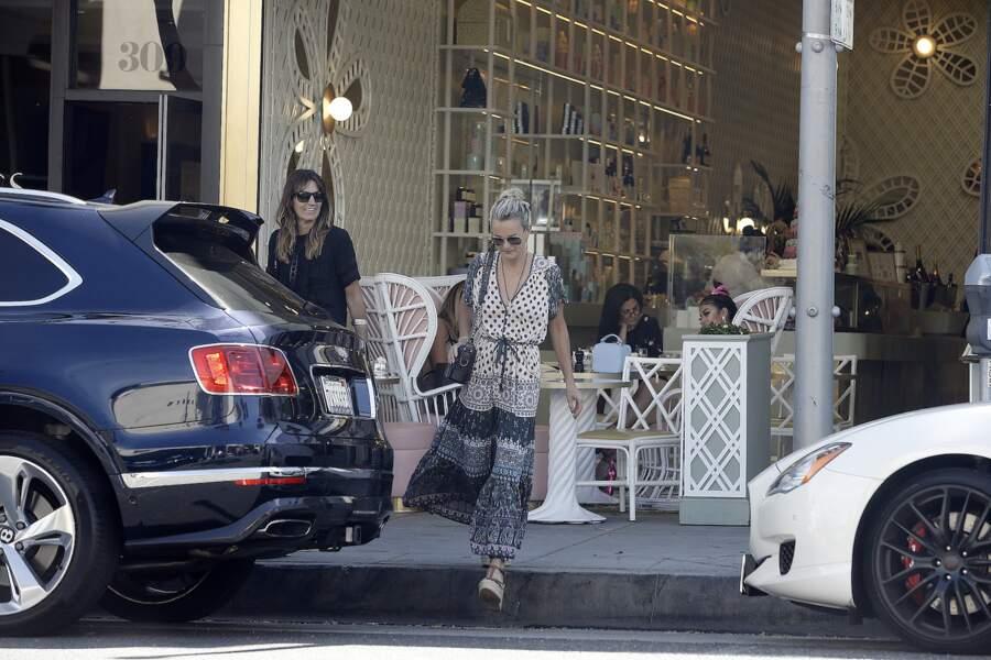 Laeticia Hallyday prend du bon temps à Los Angeles