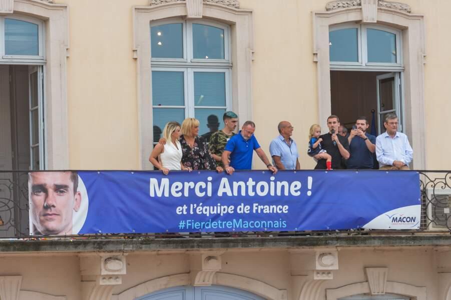 Antoine Griezmann face à la foule