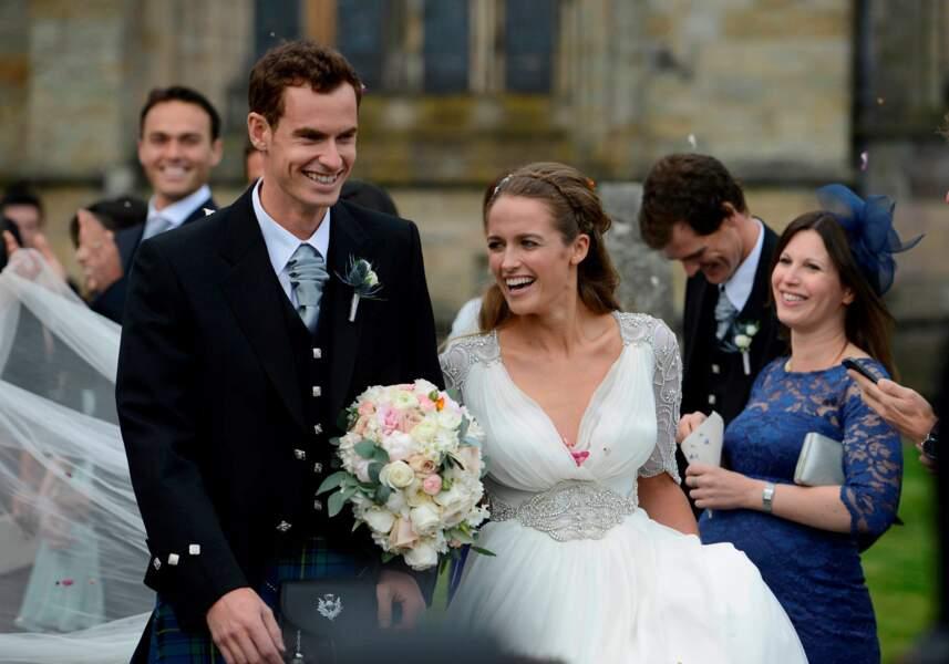 Mariage printannier pour Andy Murray et Kim Sears au mois d'avril