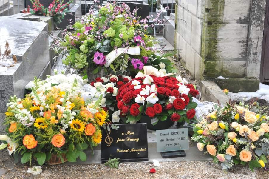 Daniel Darc a éte inhumé au cimetière de Montmartre à Paris