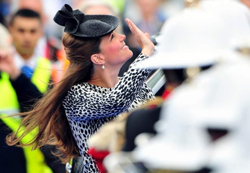 13 juin 2013 - Kate ose l'imprimé animalier