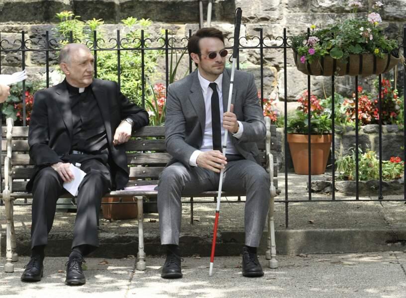 Un super-héros aveugle? Impossible? Stan Lee vous prouve le contraire.