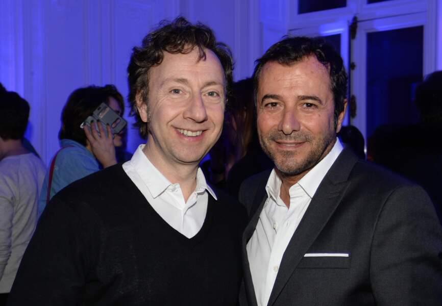 Stéphane Bern et Benard Montiel