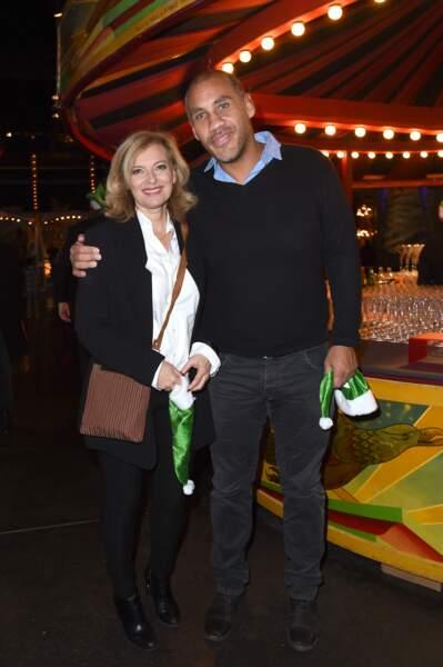 Valérie Trierweiler et son compagnon Romain Magellan au Musée des Arts Forains à Paris, le 5 décembre 2018