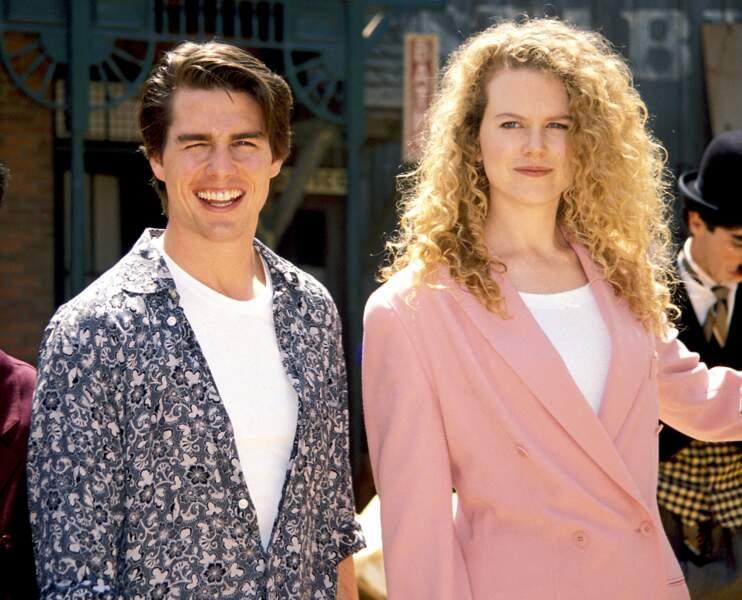 Nicole Kidman, époque Tom Cruise : rousse et très frisée