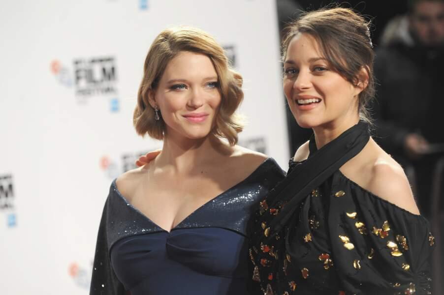 Léa Seydoux et Marion Cotillard deux futures mamans radieuses