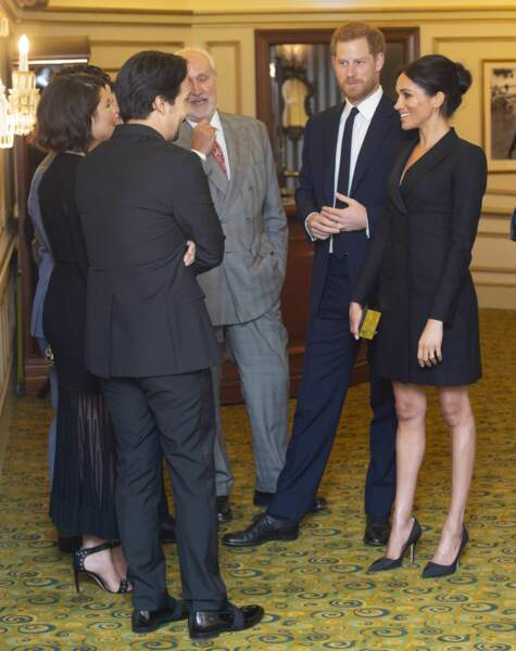 Meghan Markle canon en robe-veste de la marque canadienne Judith and Charles