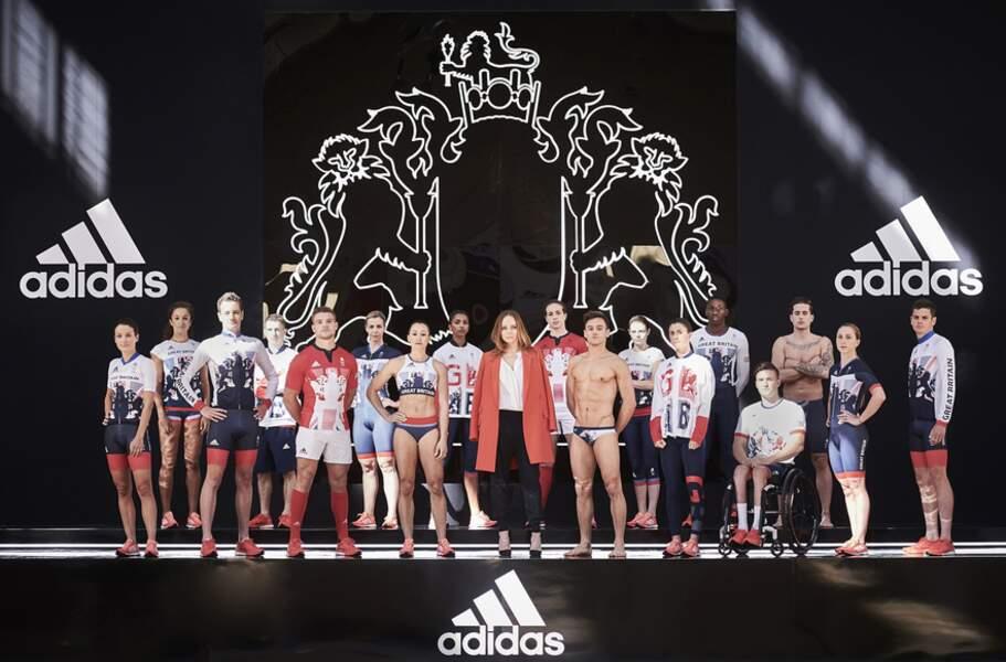 Stella McCartney et Adidas pour la Grande-Bretagne