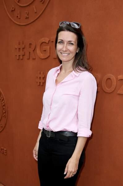 Anne-Claire Coudray le 8 juin à Roland Garros