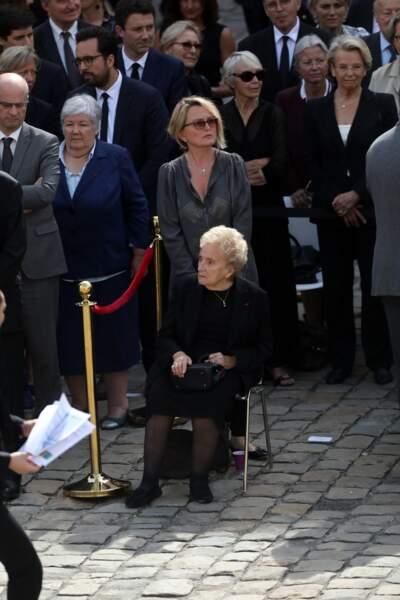Bernadette Chirac soutenue par sa fille Claude