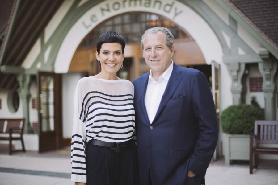 Cristina Cordula et son compagnon