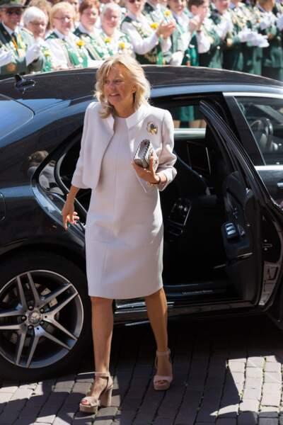 Chantal Hochuli, la mère du prince du marié, Ernst August Jr de Hanovre