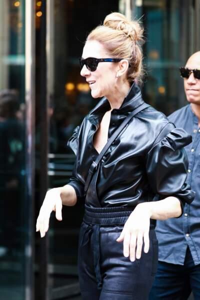 Celine Dion est radieuse, au lendemain de son show berlinois