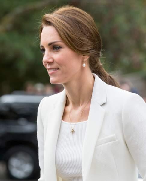 La ponytail de la duchesse de Cambridge