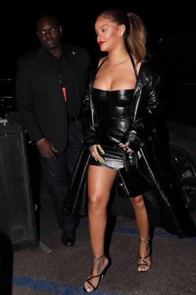 Rihanna assiste au concert de Jay Z au Forum à Los Angeles, le 21 décembre 2017