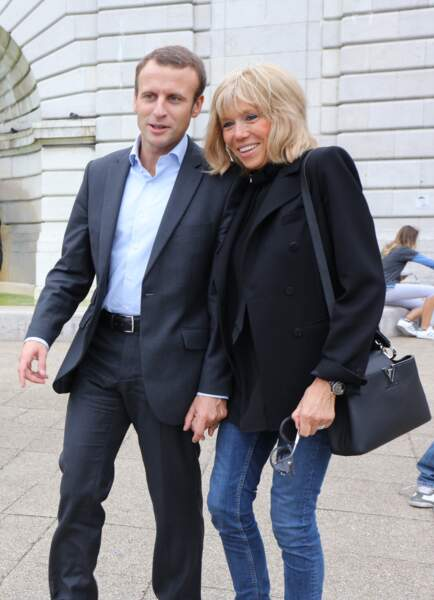 Le couple à Montmartre, le 4 septembre 2016.