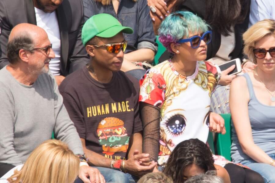 Pharrell Williams profite de quelques jours à Paris