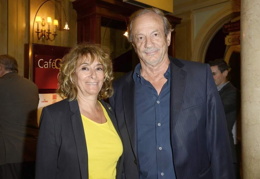 Patrick Chesnais s'est marié avec Josiane Stoléru après trente-neuf ans de vie commune
