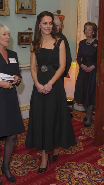 """Kate Middleton lors de la soirée de remise des prix """"Place2Be - Wellbeing in Schools"""" le 22 novembre 2016"""