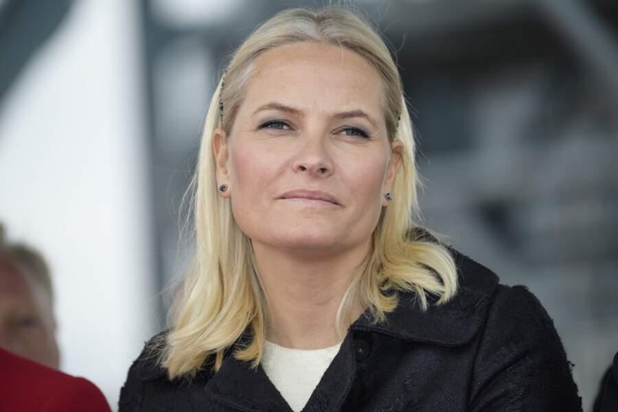 La princesse Mette-Marit de Norvège à Oslo le 14 octobre 2016