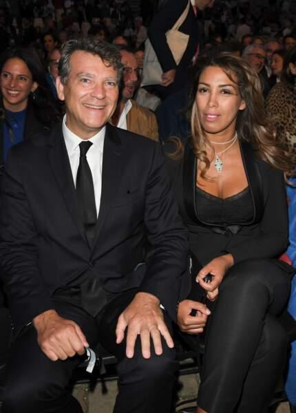 Arnaud Montebourg et Amina Walter ont tout l'air de filer le parfait amour