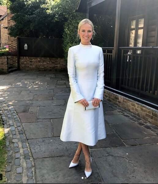 Elle fut évidemment invitée au mariage de son amie avec Harry, le 19 mai dernier, au château de Windsor.