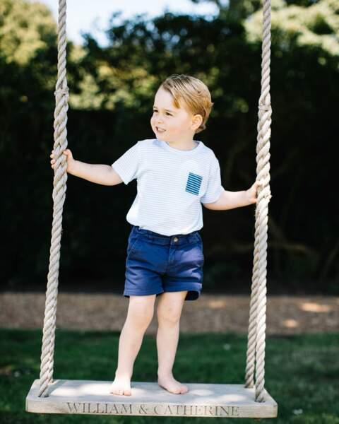 Photo officielle pour célébrer les 3 ans du prince George