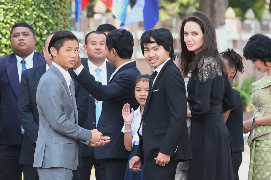 Le fils aîné d'Angelina Jolie et de Brad Pitt a été au coeur de la dispute fatale à leur couple.