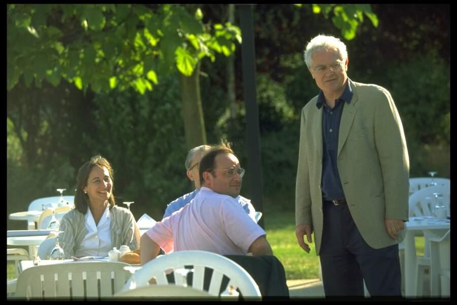 Ségolène Royal, François Hollande et Lionel Jospin au séminaire du PS à Marne-La-Vallée le 28 Juin 1995