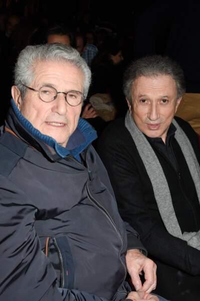 Claude Lelouch et Michel Druckerétaient présents aux côtés de Michel Leeb
