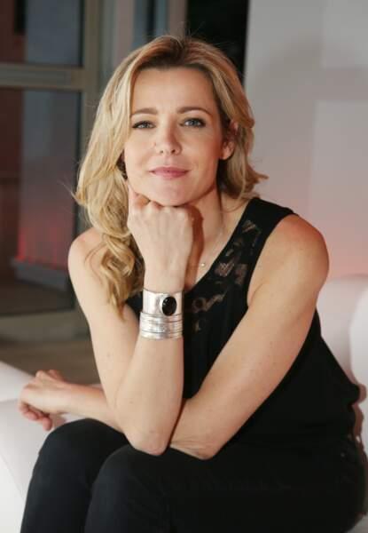 """Laure Guibert (51 ans), héroîne de la série """"Les Mystères de l'Amour"""", en 2016"""