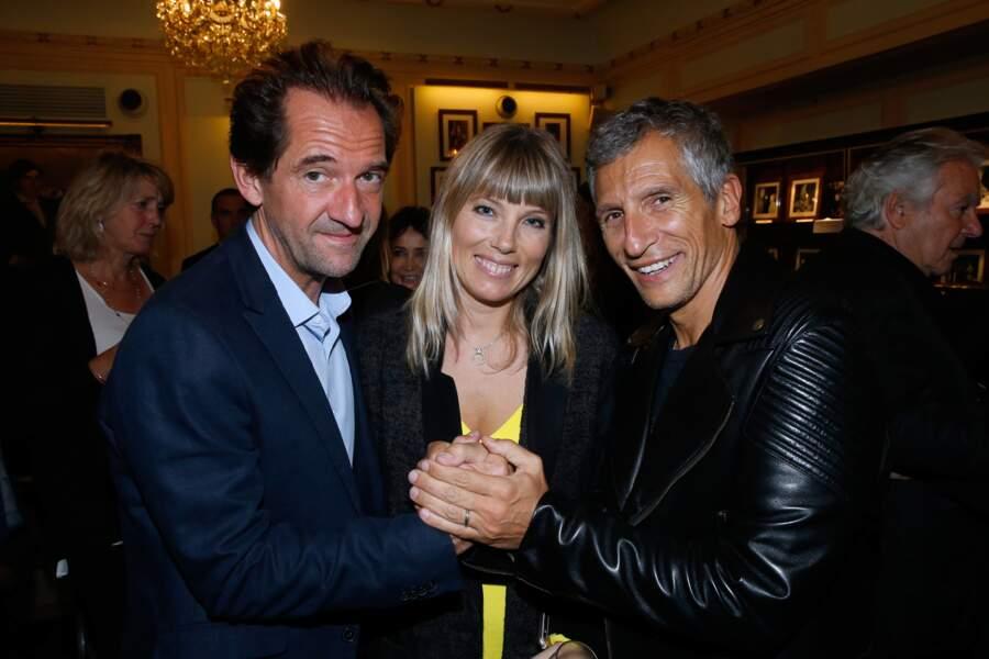 Stéphane De Groodt, Mélanie Page et Nagui