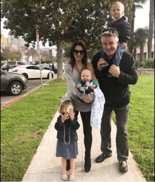 Alec Baldwin et toute sa petite famille