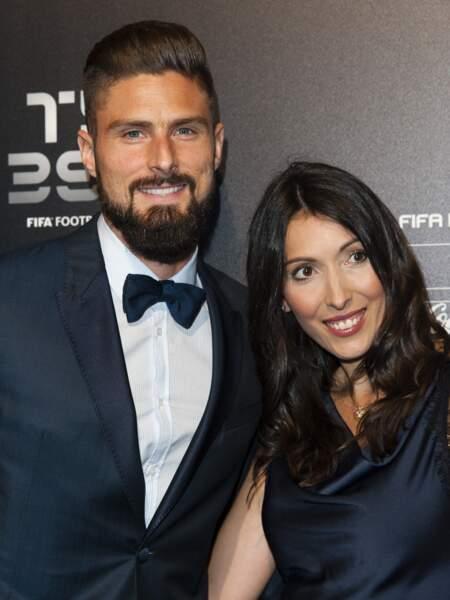 Olivier Giroud et sa femme Jennifer agrandissent leur famille