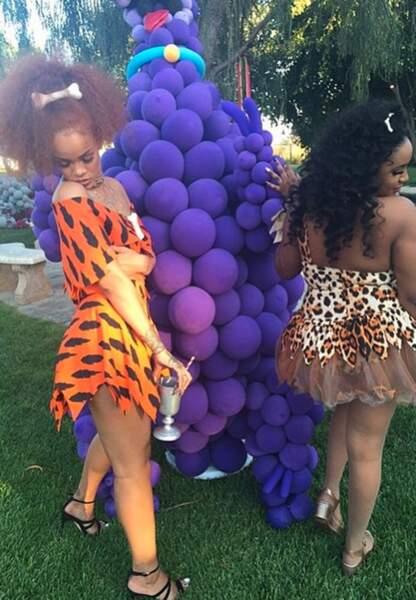 Rihanna alias Pierrafeu