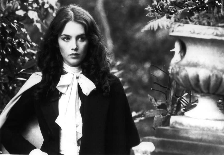 """Isabelle Adjani dans """"L'Histoire d'Adèle H."""" en 1975"""