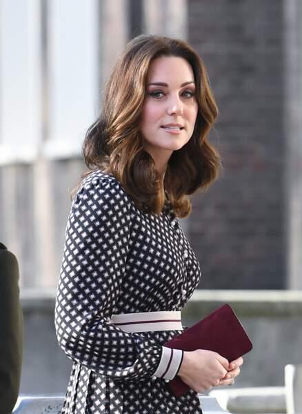 Kate Middleton affiche un teint radieux