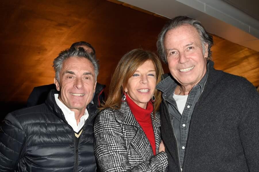 Gérard Holtz, Framboise Holtz et Michel Leeb