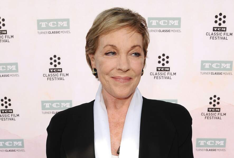 Julie Andrews lors du TCM Classic Film Festival à Hollywood en 2015