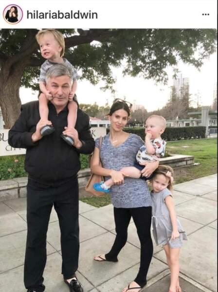 Alec Baldwin et sa petite famille