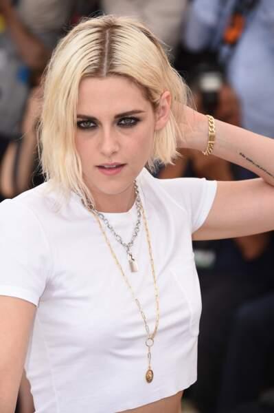 Kristen Stewart a souvent le regard cerné qui lui donne l'air toujours négatif